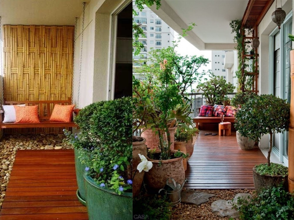 8 ideas para decorar balcones for Bioguia jardines