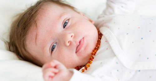 ¿Qué son los collares de ámbar para bebés?