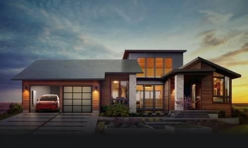 Tesla ya lanzó sus tejas solares