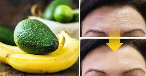 Mascarilla de aguacate y plátano para lucir una piel más joven