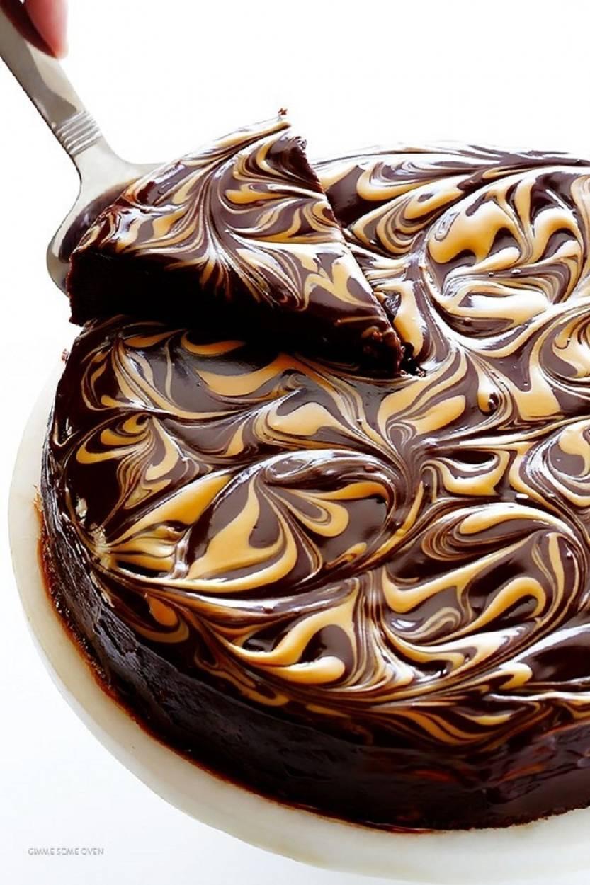 Torta de chocolate y mantequilla de maní, ¡sin harinas!