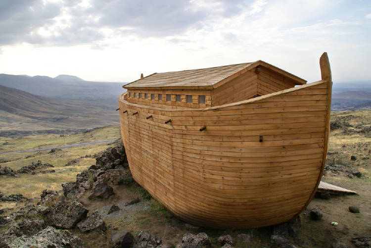 Descubren dónde esta el Arca de Noé