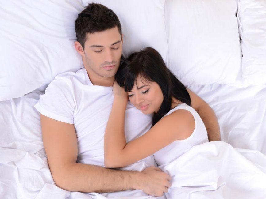 dormir abrazados