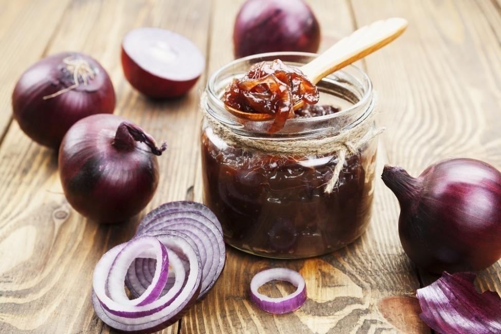 cebolla caramelizada - onion jam