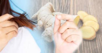 Así puedes recuperar tu cabello con jengibre si se te cae por estrés