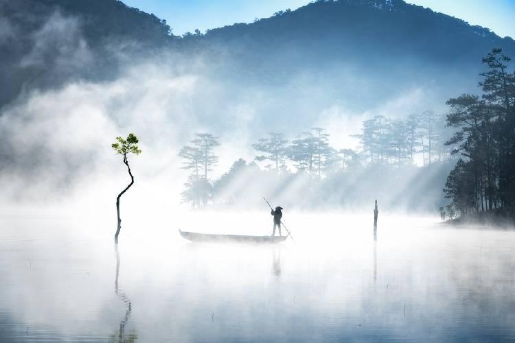 \\\'Tuyen Lam Lake\\\' por @anhtrungqng (Vietnam)