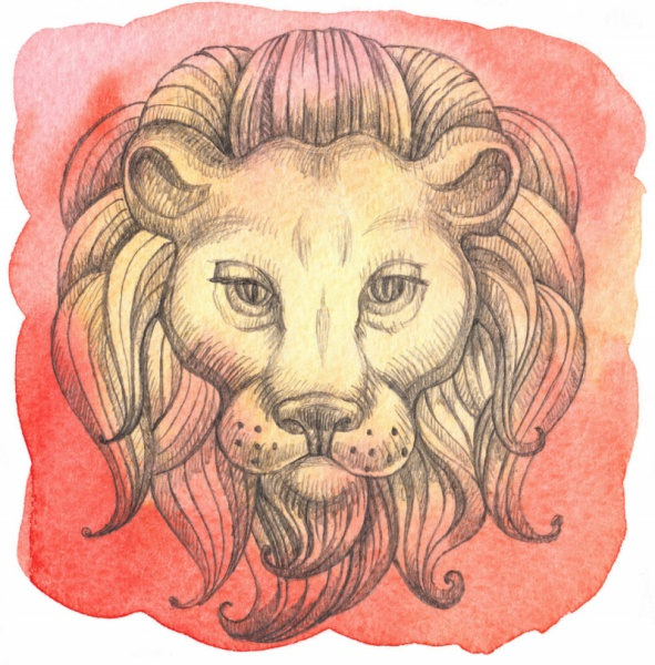 El signo del zodíaco Leo - ascendente carta astral