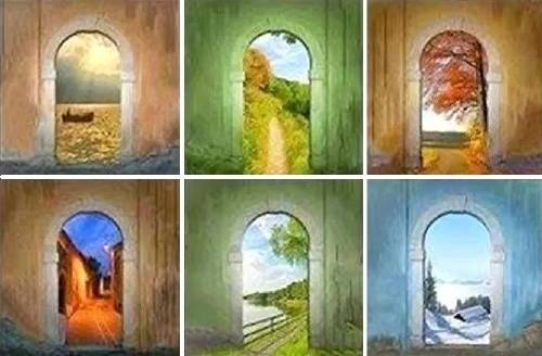 ¿Al final de la vida, qué puerta elegirías cruzar? Este preciso test revela..
