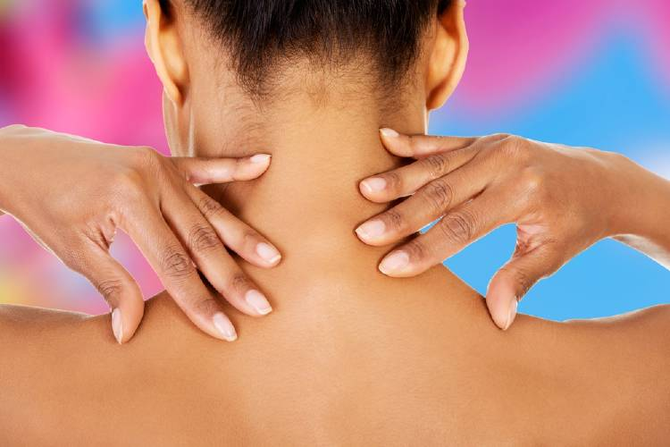 masaje cuello drenaje linfatico