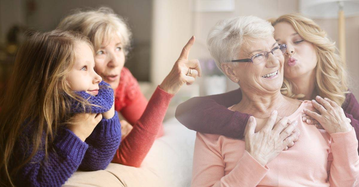 Un estudio revela que las mujeres heredan el temperamento de su abuela materna