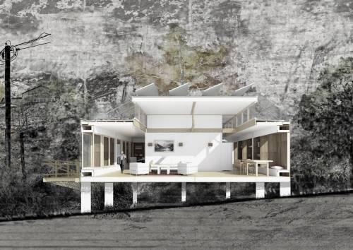 """Esta casa \""""cebolla\"""" tiene tantas capas como contextos existen en el mundo"""