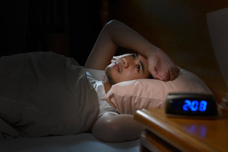 No poder dormir por la noche