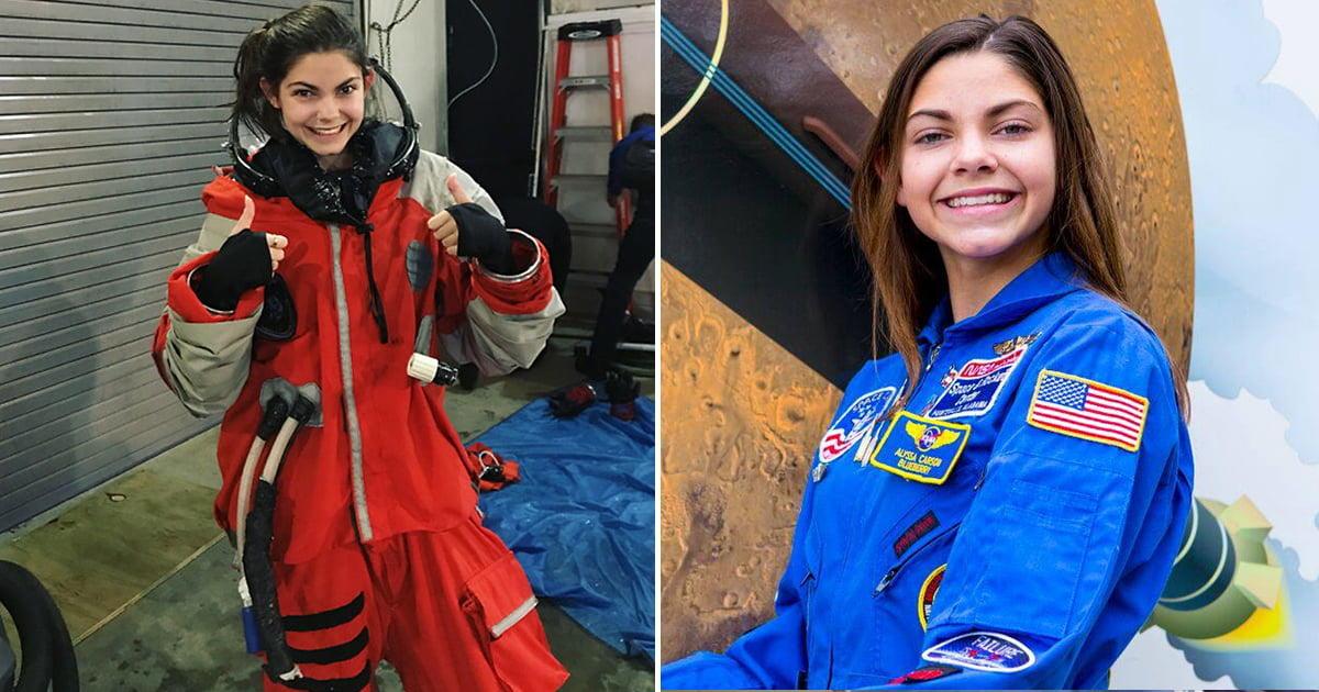 La historia de la astronauta de 19 años que se prepara para ir a Marte