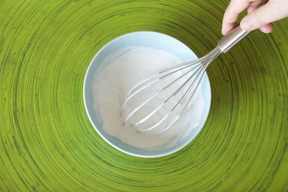 receta crema chantilly vegana