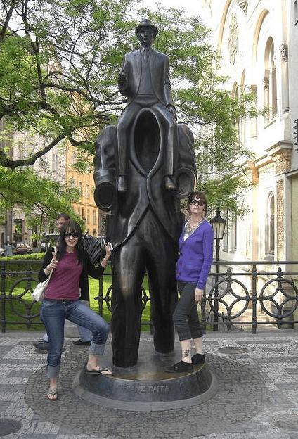 Franz Kafka Monument, Praga, República Checa