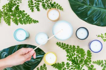 como hacer velas de soja