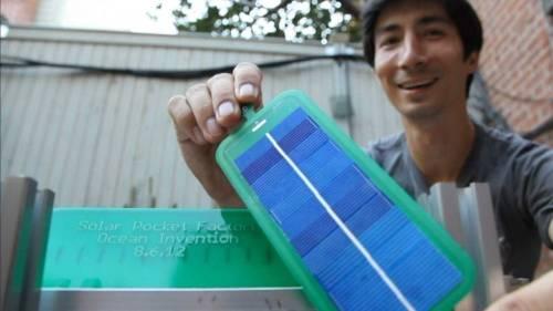 Una máquina que imprime paneles solares de bolsillo a bajo costo