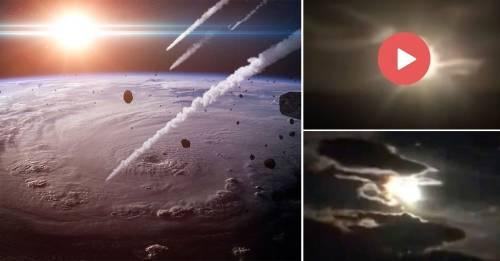 Bolas de fuego en el cielo: el último video viral que te dejará sorprendido