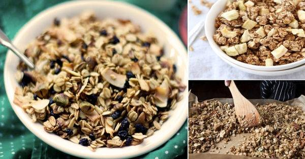 Cómo hacer granola en casa