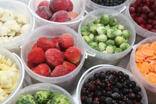 Cómo congelar frutas y verduras para almacenarlas por mucho tiempo