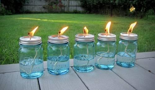 Cómo hacer una vela repelente de mosquitos