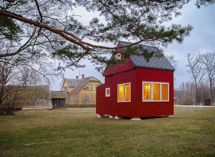 """Diseñan una vivienda sustentable """"origami"""", que se pliega y se arma en tres hora"""