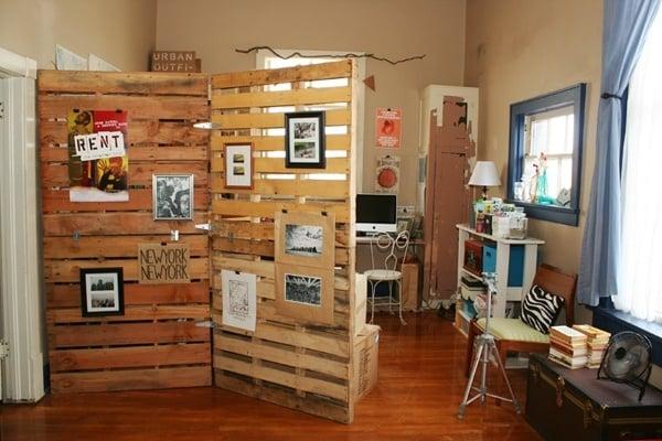 pallet-room-divider