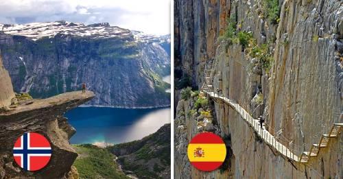 Estas son las 5 atracciones turísticas más peligrosas del mundo