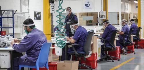 Coronavirus: Ford produjo 20.000 protectores faciales