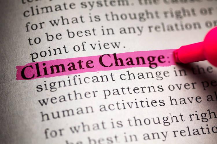 diccionario cambio climatico