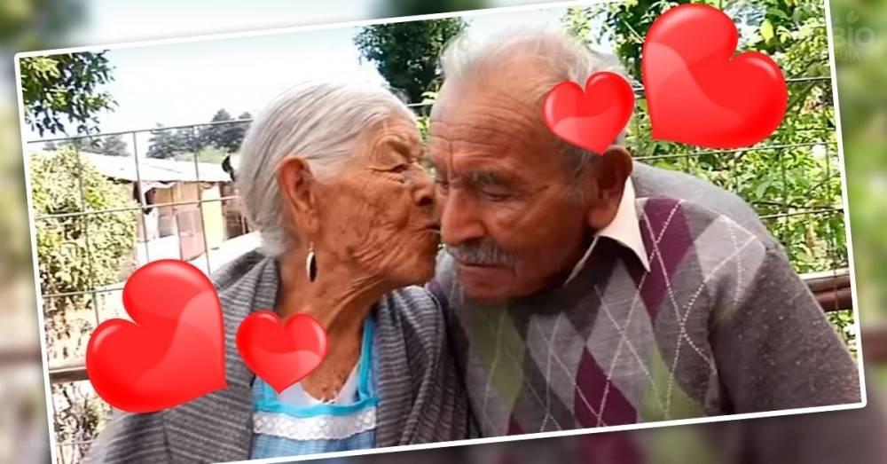 Con 81 años de casados, ellos revelan el secreto de su larguísimo amor