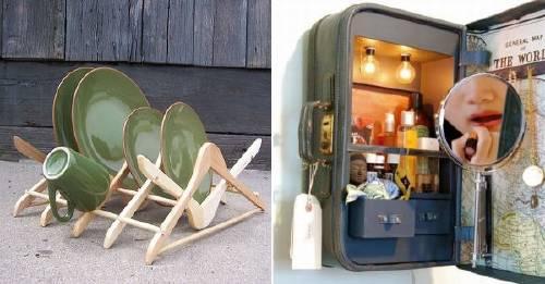 13 ideas para reutilizar y equipar tu hogar