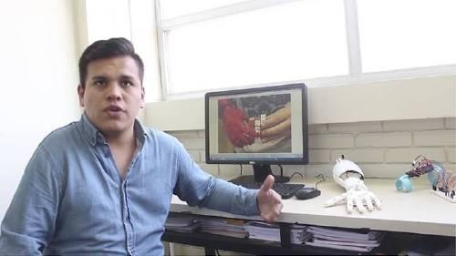 Este joven peruano nació sin una mano, pero su invento revoluciona la medicina