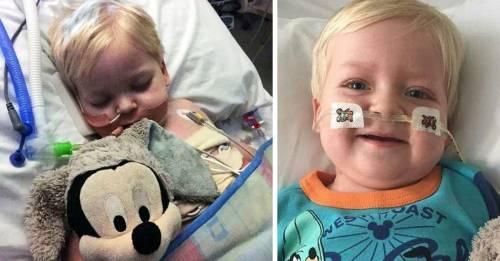 Este niño en coma despertó milagrosamente justo antes de que apagaran su res..