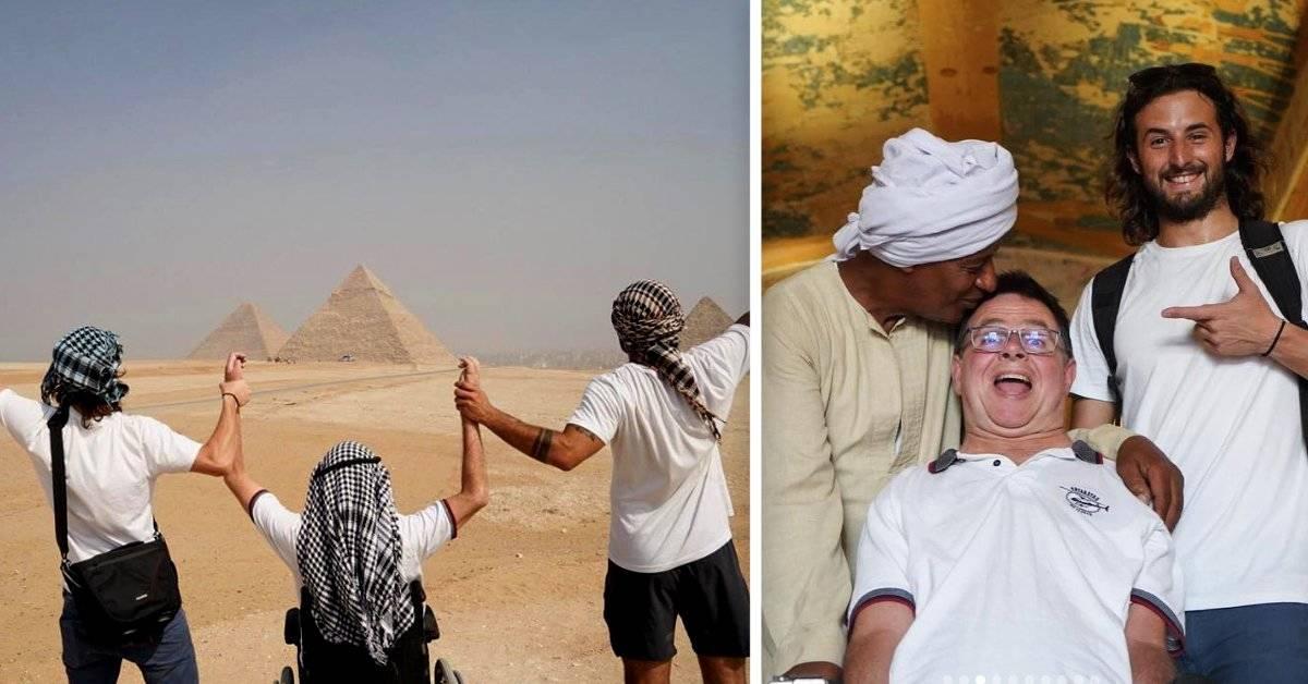 Aventuras todo terreno: así es recorrer el mundo con un amigo en silla de ruedas