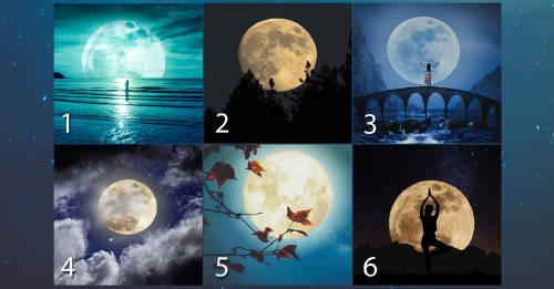 Escoge una luna y descubre cómo te irá en el amor