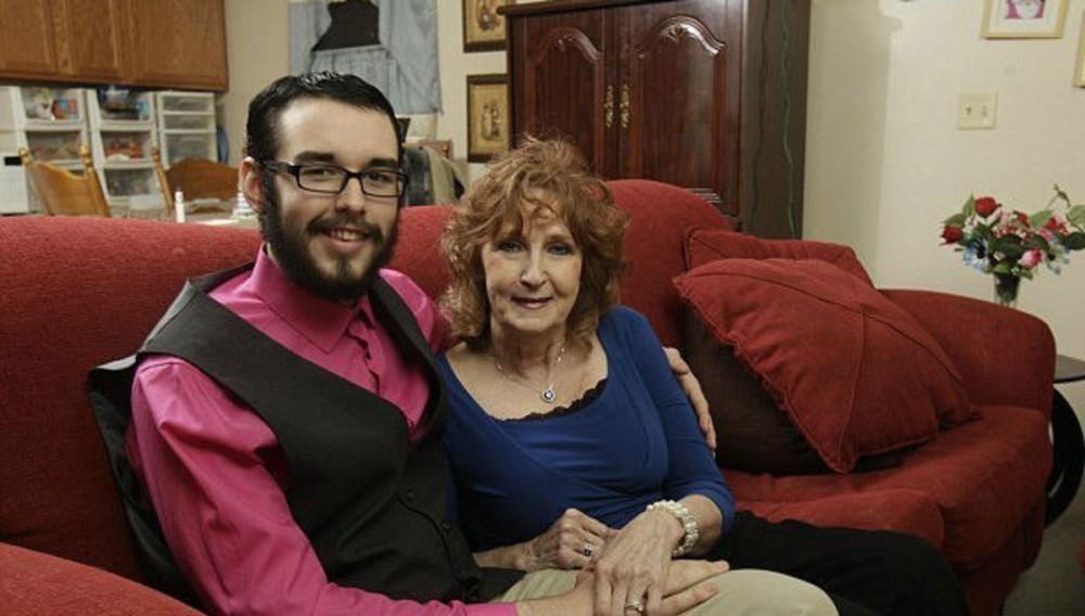 La pareja se lleva 53 años de diferencia