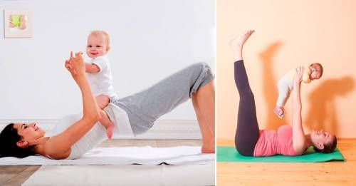 Ejercicios postparto: recupera tu cuerpo después de tener a tu bebé
