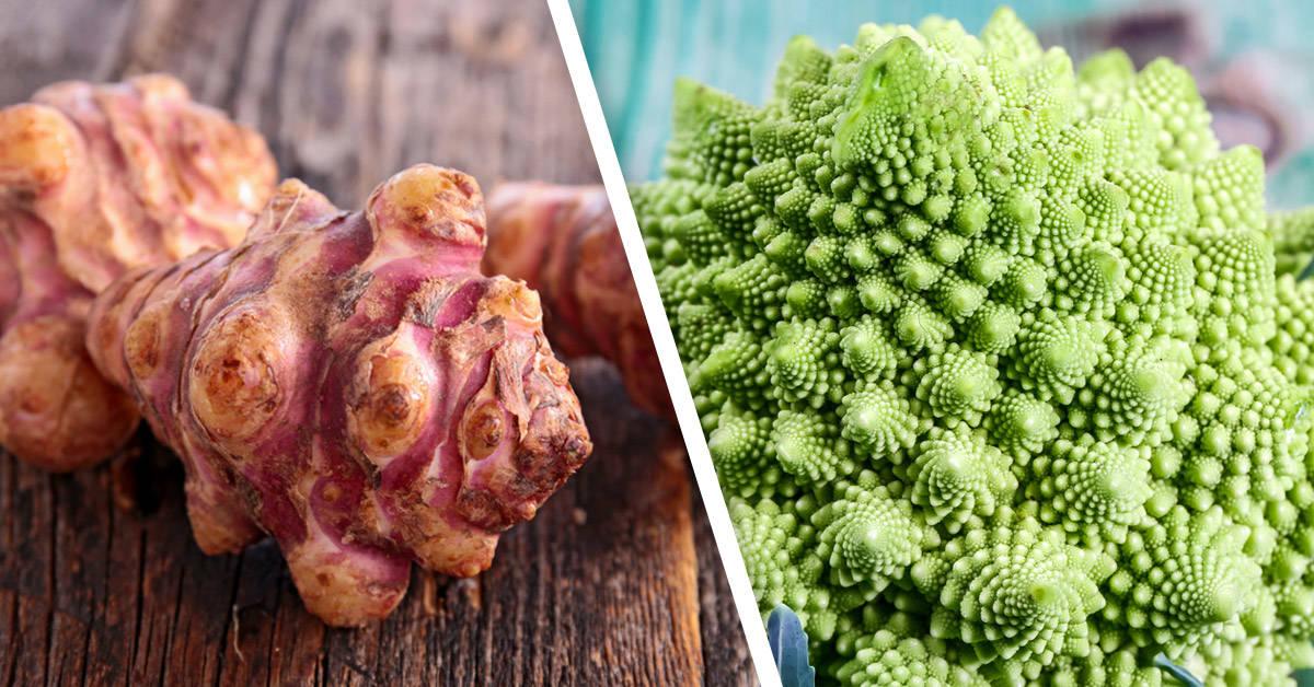 Estos alimentos tienen un aspecto muy raro, ¡pero increíbles propiedades!