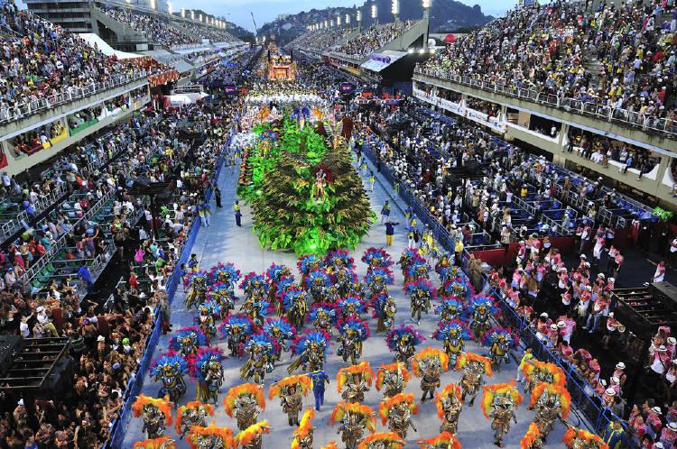 desfile de carnaval en rio de janeiro