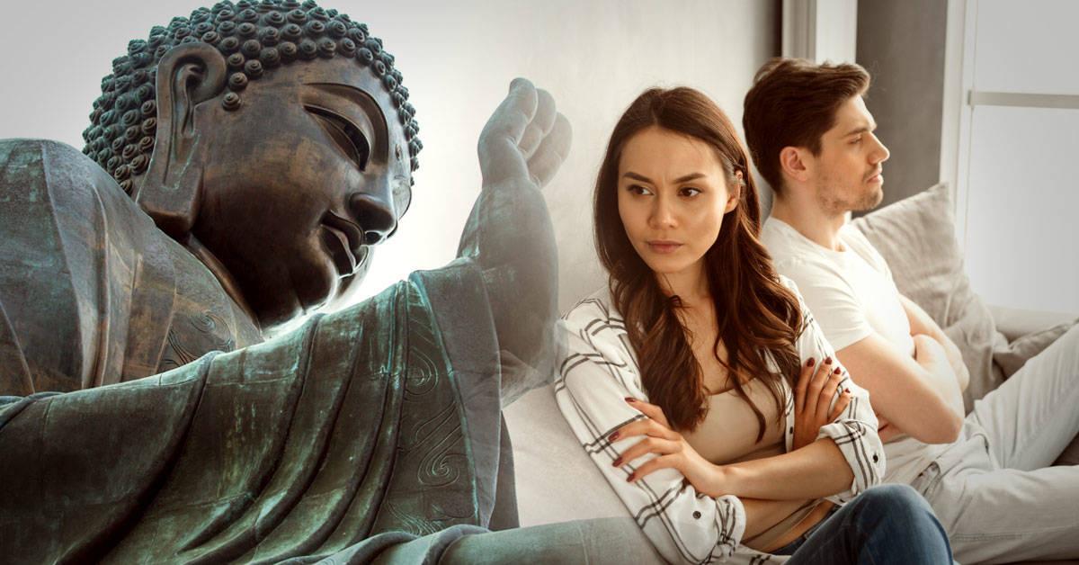 3 venenos que dañan tu pareja según el budismo y 3 antídotos para combatirlos