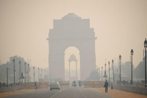 Delhi: la ciudad donde respirar aire fresco cuesta 15 veces más que tomar agua
