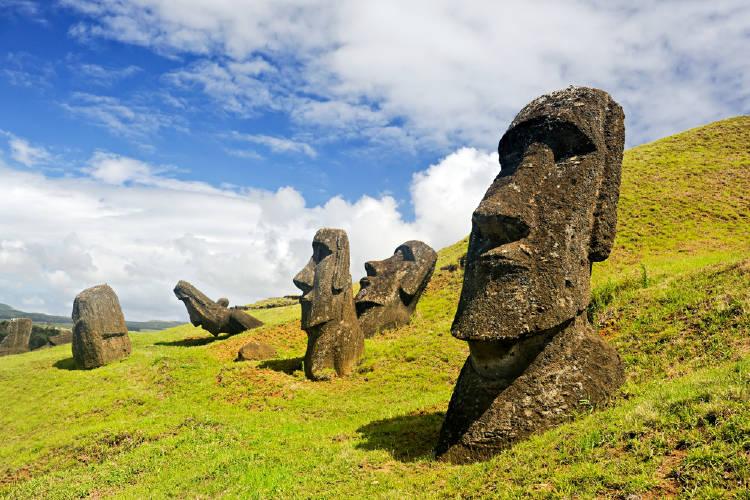 isla pascua rara nui chile parque nacional