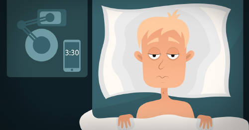 ¿Te despiertas durante la noche? Es posible que tu cuerpo te esté diciendo algo
