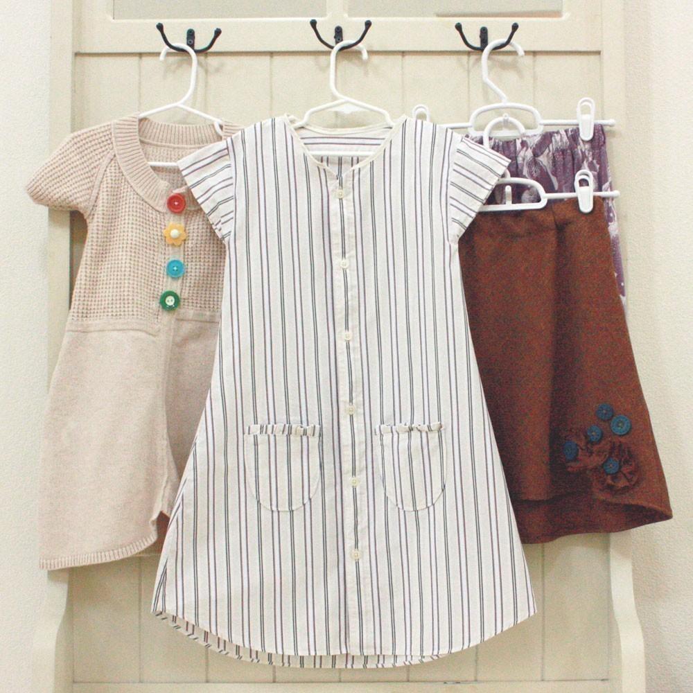 Cómo convertir una vieja camisa en un vestido