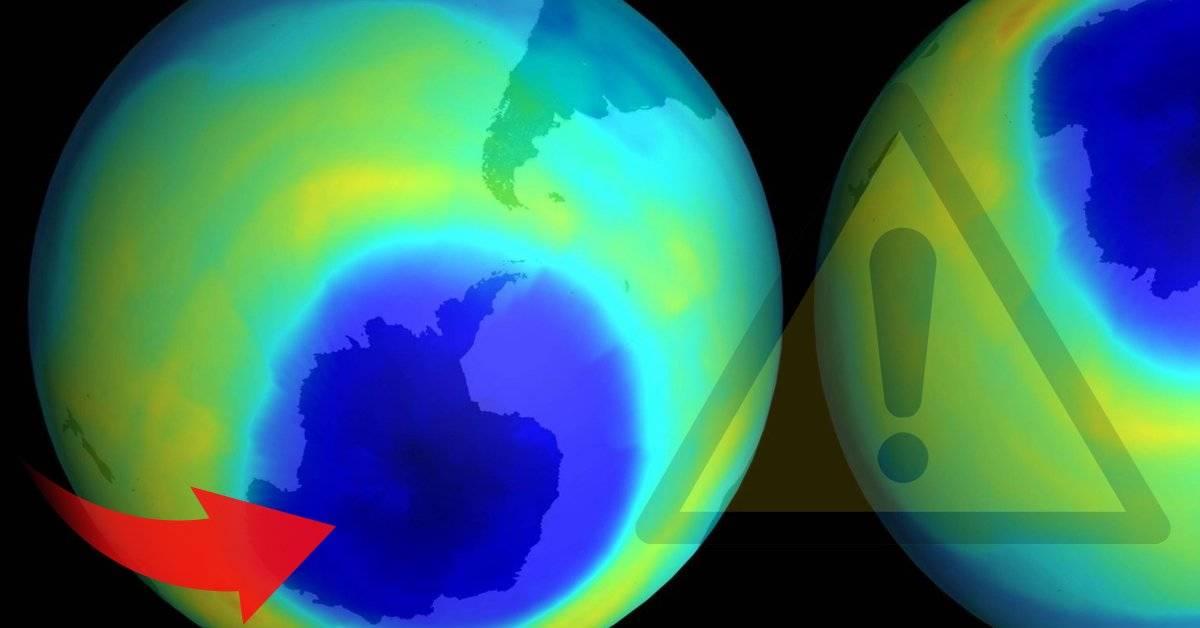 Descubren el origen de un preocupante aumento en el daño a la capa de ozono en los últimos meses