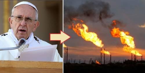 El Papa pidió en persona a las petroleras que usen energías limpias