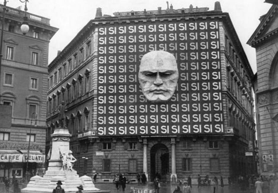 Fotografías históricas mussolini