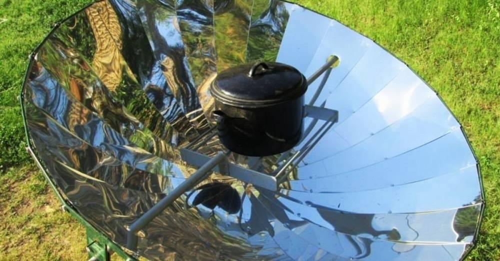 Cómo hacer una cocina solar casera
