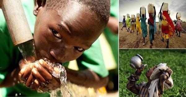 16 impresionantes fotos que reflejan la importancia del agua para la vida